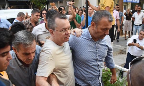 Сделка ли? Тръмп благодари на Ердоган за Брънсън