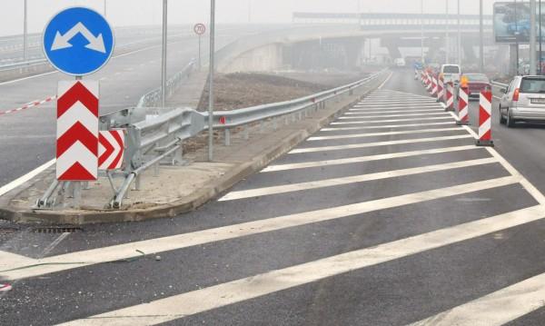 Трафик: Ремонтът на Северната скоростна тангента продължава
