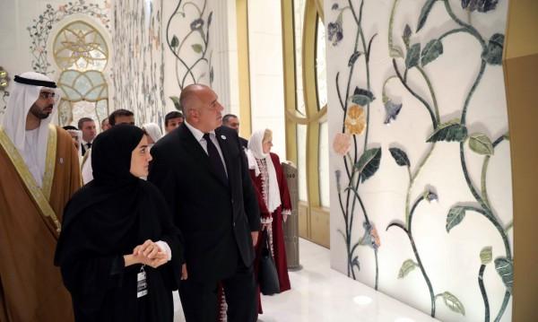 """Борисов в джамията """"Шейх Зайед"""": Да живеем щастливо заедно!"""