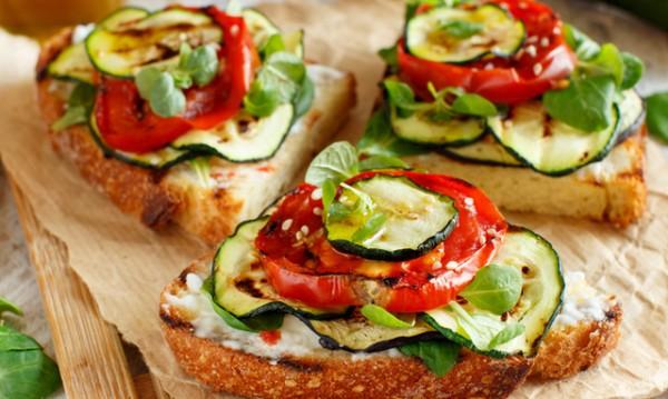 Рецептата Dnes: Калифорнийски сандвич с тиквички