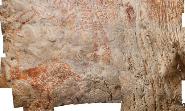 В индонезийска пещера: Скални рисунки на 40 хил. години!