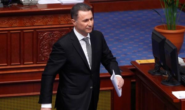 Груевски остава депутат, засега не влиза в затвора