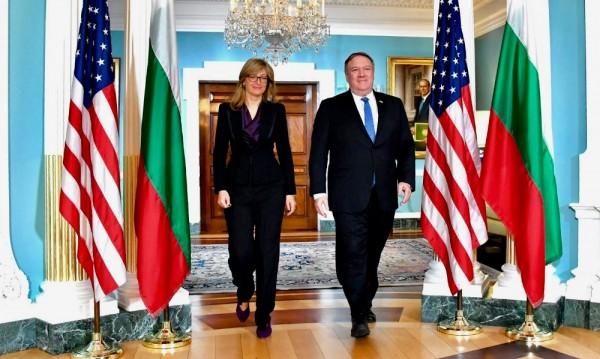 Борисов на посещение в САЩ в началото на 2019 г.