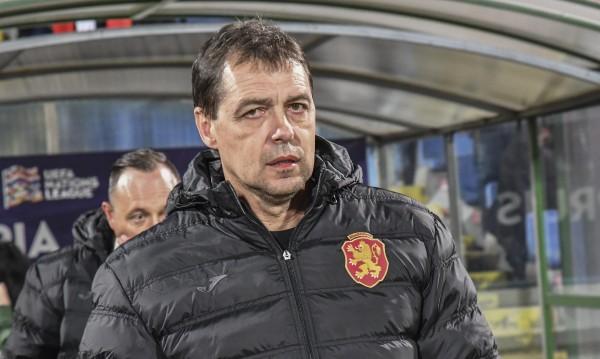 Хубчев не търси подмладяване: Иска хъс и спортна злоба