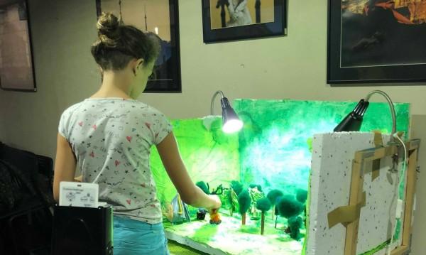Киномания с филми за деца, направени от деца