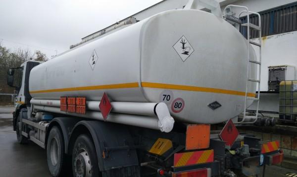 51 тона горива без документи задържани в София