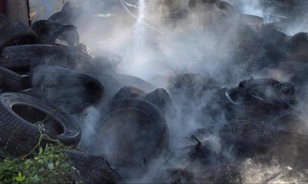 Към 10 хил. стари гуми събраха за година в София