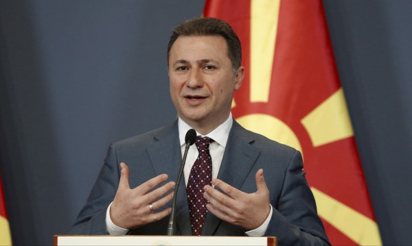 Македония: Груевски не е минавал през границата!