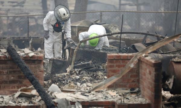Нарастват жертвите на пожара в Северна Калифорния