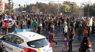 Биков: Част от протестиращите – криминално проявени!
