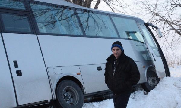 Автобус от София за Варна – в канавка край Севлиево