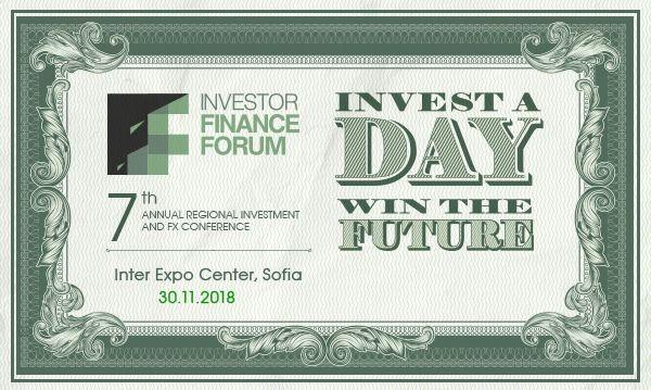 Изданието на Investor Finance Forum с най-важното за финансовите пазари