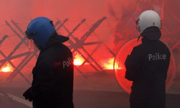 Ескалират протестите срещу цените на горивата в Белгия