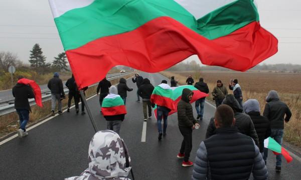 """23-ма непълнолетни – снощи на блокадата на """"Марица"""""""