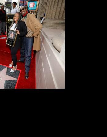 Снуп Дог със звезда на Алеята на славата