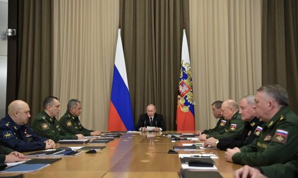 Путин: Русия се превъоръжава ударно!