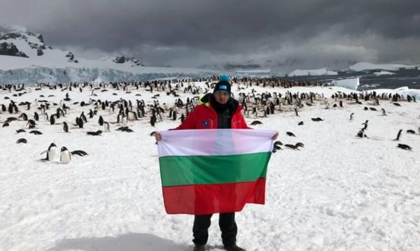Българин е първият шампион на Антарктида по... плуване!