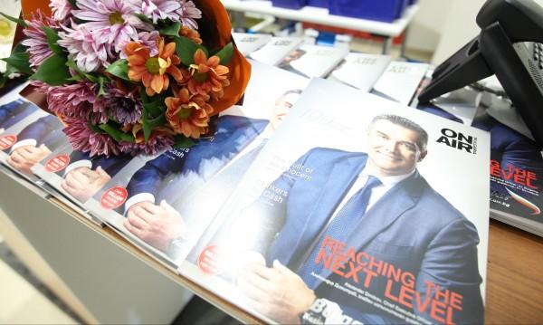 Бордното списание  The Inflight Magazine отпразнува стотния си брой