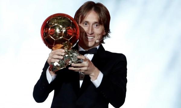 Лука Модрич спечели Златната топка