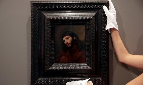 Картина с отпечатъци на Рембранд за $12 млн.