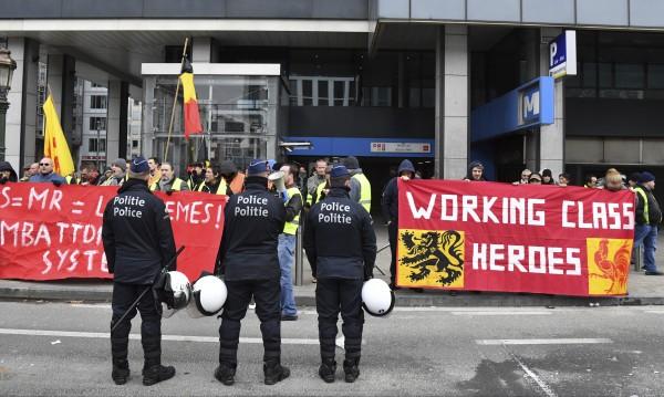 Сблъсъци с полицията: В Брюксел недоволни от мигрантите