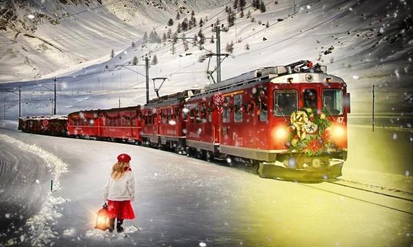 Магията на Коледа: Пътуване с експрес на Дядо Коледа