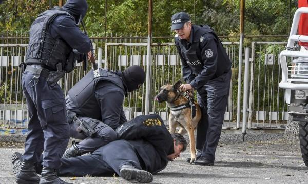 Заради сигурността стотици полицаи посрещат новата година на работа