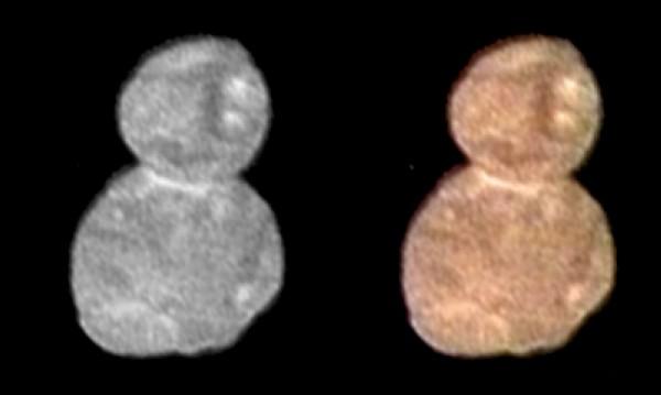 Небесното тяло Ултима Туле прилича на... снежен човек