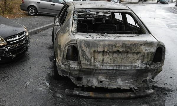 Опожарена кола в Монтана. Подозират отмъщение
