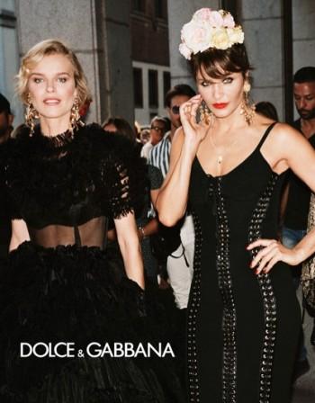 Кои са златните момичета на Dolce & Gabbana?