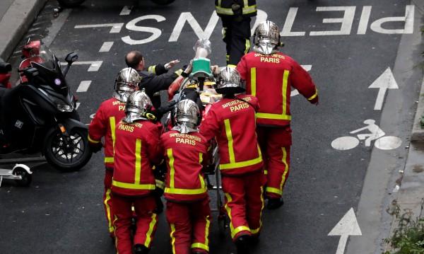 Четирима са загинали при експлозията на газ в Париж