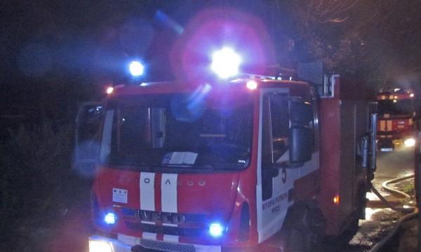 Пожар горя в шивашки цех в Смолянско