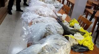 Полицията откри хероин за над 5 млн. в хасковски гараж