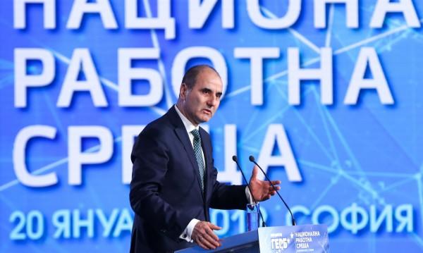 """Цветанов като """"парламентарен пилот"""": Стараем се!"""