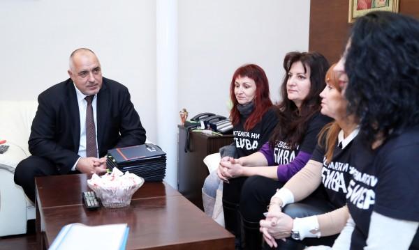 """Борисов към майки от """"Системата ни убива"""": Обещаното е факт!"""