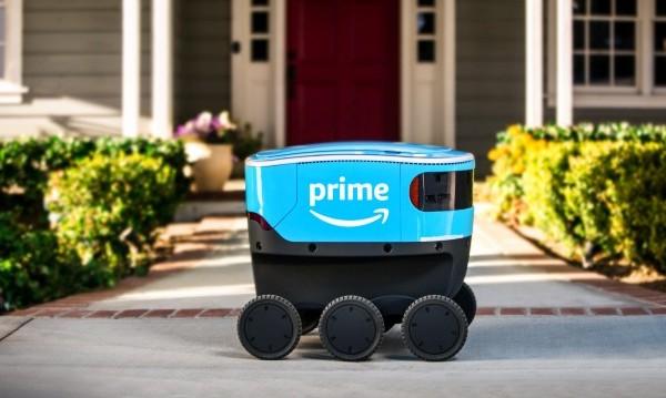 Amazon представи доставчика на бъдещето – малък  робот