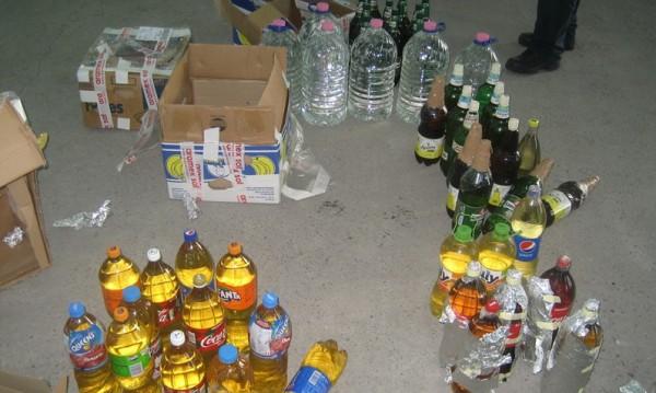 Митничари задържаха незаконни 3000 кутии цигари и 150 л алкохол