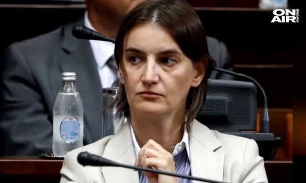 Сръбската премиерка Бърнабич чака дете от партньорката си