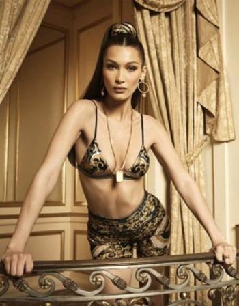 Бела Хадид става рекламно лице на Versace