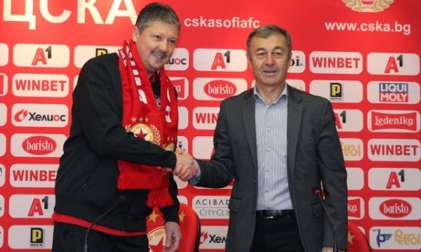 Любо Пенев се завърна в ЦСКА, защо бе освободен Ел Маестро?