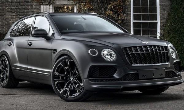 Bentley Bentayga заприлича на автомобил за Дарт Вейдър
