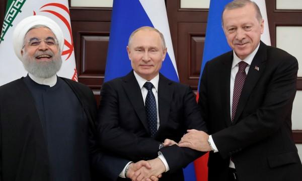 Русия, Турция и Иран обсъдиха ситуацията в Сирия
