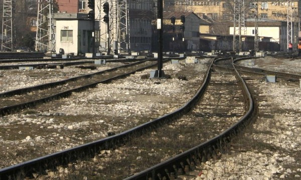 Три вагона от товарен влак дерайлираха в Пловдив
