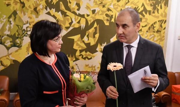 Цветанов бил оповестил нова управляваща коалиция - ГЕРБ, ДПС, ОП