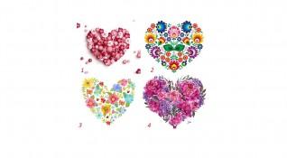 4 сърца разкриват какви сте в любовта