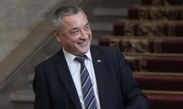 НФСБ издига Валери Симеонов за водач на листата за ЕП