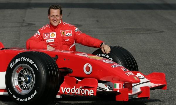Шумахер все по-добре, вече не е прикован на легло?