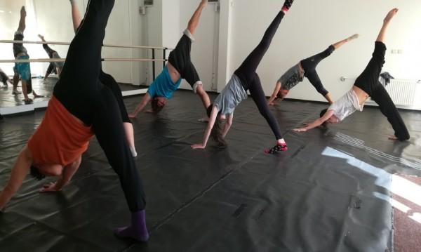 Стъпка по стъпка:  Безплатен уъркшоп по съвременен танц