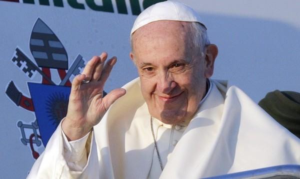 Папата с интернет страница за визитата у нас