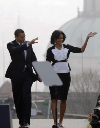 Барак и Мишел Обама ... Кои са най-влиятелните звездни двойки?